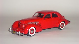 Cord 812 Supercharged Beverly Sedan 1937 de Neo Scale Models