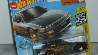 Nissan Silvia , escala 1/64 de Hot Wheels .