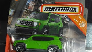 Jeep Renegade 2019 , escala 1/64 de Matchbox .