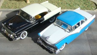 Comparativo 44: ford fairlane (1955) / chevrolet bel air (1955)