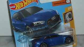 Audi RS 5 Coupe , escala 1/64 de Hot Wheels .
