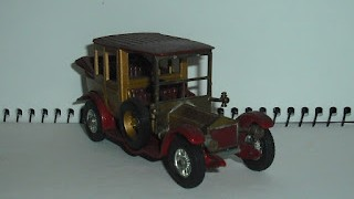 Rolls Royce 1912 , escala 1/48 , Models of Yesterday de Matchbox .