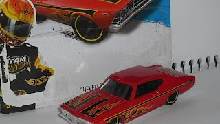Chevrolet Chevelle SS 396 , escala 1/64 de Hot Wheels .