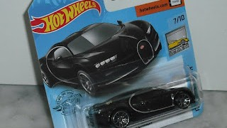 Bugatti Chiron de 2016 , escala 1/64 de Hot Wheels .