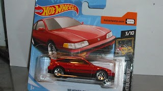 Honda CR-X de 1988 , escala 1/64 de Hot Wheels .