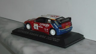 Citroen Xsara WRC , escala 1/43 , Rally Turkey 2003 , C Sainz - M Martí .