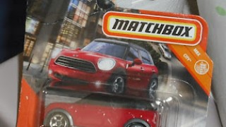 Mini Countryman 2011 , escala 1/64 de Matchbox