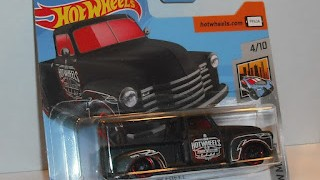 Chevrolet Chevy Pick Up de 1952 , escala 1/64 de ot Wheels .