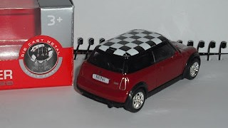 Mini Cooper , escala 1/60 de Welly