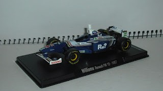 Williams Renault FW 19 de 1997 , escala 1/43 , de la colección