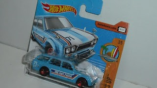 Datsun Bluebird 510 Wagon de 1971 , escala 1/64 de Hot Wheels .