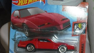 Pontiac Firebird 1984 , escala 1/64 de Hot Wheels