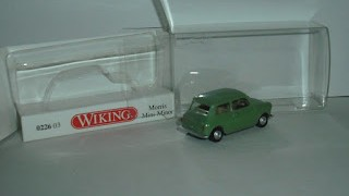 Morris Mini-Minor , escala 1/87 de la marca Wiking