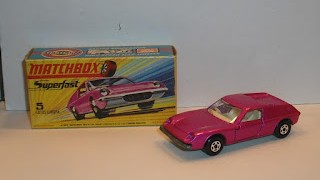 Lotus Europa , escala 1/64 , colección Superfast de Matchbox .