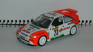 Ford Escort RS Cosworth , Rallye Monte Carlo 1994 , escala 1/43 de Ixo .