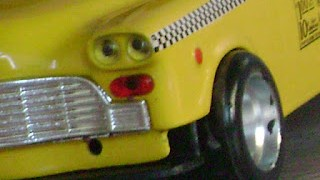 Checker taxi tuned by gaucho models