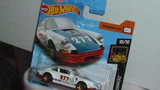 Porsche 911 de 1971 , de  Magnus Walker , escala 1/64 , de Hot Wheels .