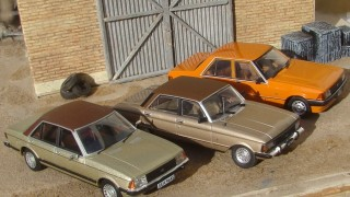 Comparativo ford falcon y granada contemporáneos