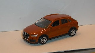 Audi Q3 , escala 1/60 de la marca Welly .