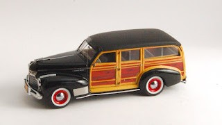 Chevrolet Special Deluxe Cantrell Station Wagon 1941 de Neo Scale Models