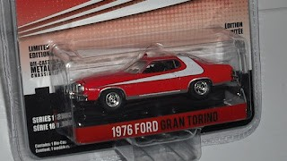 Ford Gran Torino 1976 , escala 1/64 , Starsky & Hutch , de la marca Greenlight .