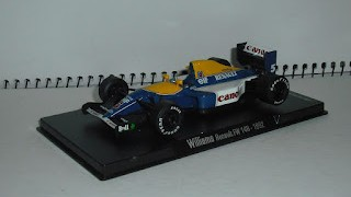 Williams Renault FW 14B , 1992 , escala 1/43 de la colección