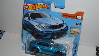 BMW M2 2016 , escala 1/64 de Hot Wheels