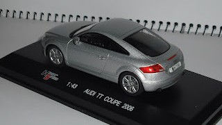 Audi TT Coupe 2006 , escala 1/43 de la marca High Speed .