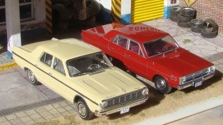 Comparativo: dodge dart barreiros (1966) / chrysler valiant iv (1967)