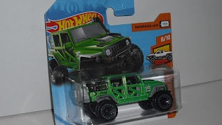 Jeep Wrangler 2017 , escala 1/64, de Hot Wheels .