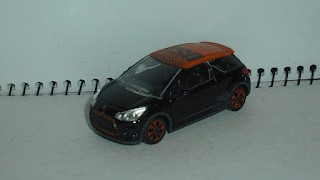 Citroen DS3 Racing , escala 1/64 , de Norev .