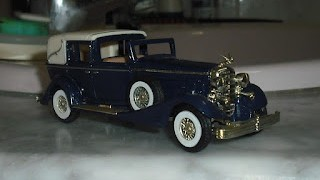 Cadillac 452 V16 de 1933 , Models of Yesterdays , de Matchbox .