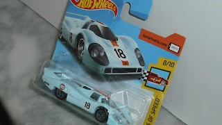 Porsche 917 LH , escala 1/64 de Hot Wheels .