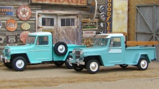 Comparativo: willys rural / ika baqueano 1000 4x4