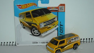 Custom Dodge Van 1977 , Mooneyes , de Hot wheels .