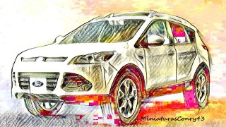FORD KUGA / ESCAPE MkII (Greenlight)