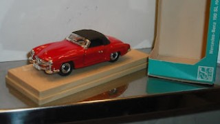 Mercedes Benz 190 SL Roadster , escala 1/43 de RIO