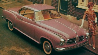 Borgward isabella coupe  (1957)
