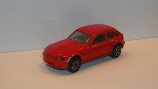 BMW Z3 Coupé , escala 1/57 de Majorette .