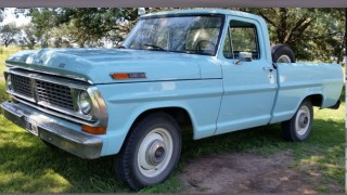 Ford pick up f-100 (1972)
