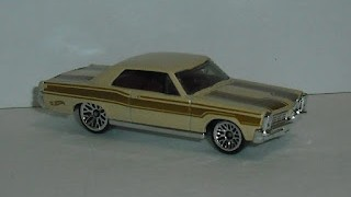 Pontiac GTO 1965 , escala 1/64 de Hot Wheels .