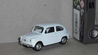Seat 600 , escala 1/60 , de la marca Welly .