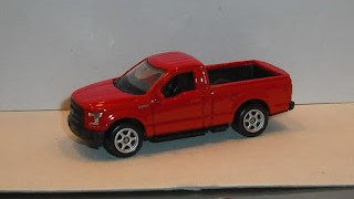 Ford F-150 Regular Cab , escala 1/60 de la marca Welly .