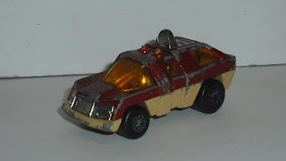 Planet Scout , escala 1/64 , del año 1975 , de Matchbox Superfast .
