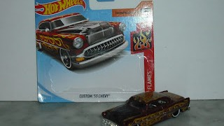 Custom 53 Chevy , escala 1/64 de Hot Wheels .