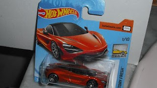 McLaren 720S , escala 1/64 de Hot Wheels .