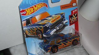 Chevrolet Nomad Classic 1955 , escala 1/64 de Hot Wheels .