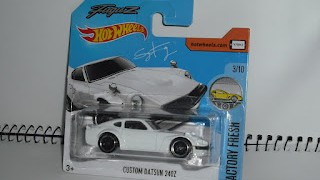 Custom Datsun 240Z , escala 1/64 , de Hot Wheels