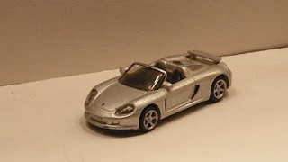 Porsche Carrera GT , escala 1/87 , de la marca High Speed .