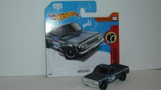 Mazda Repu , de Mad Mike , escala 1/64 ,de Hot Wheels .